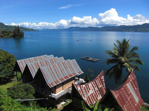 Lake Toba as it looks today.